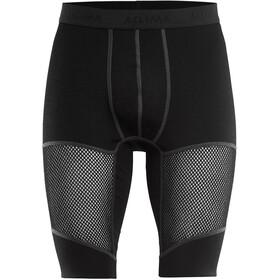 Aclima WoolNet Long Shorts Herren jet black
